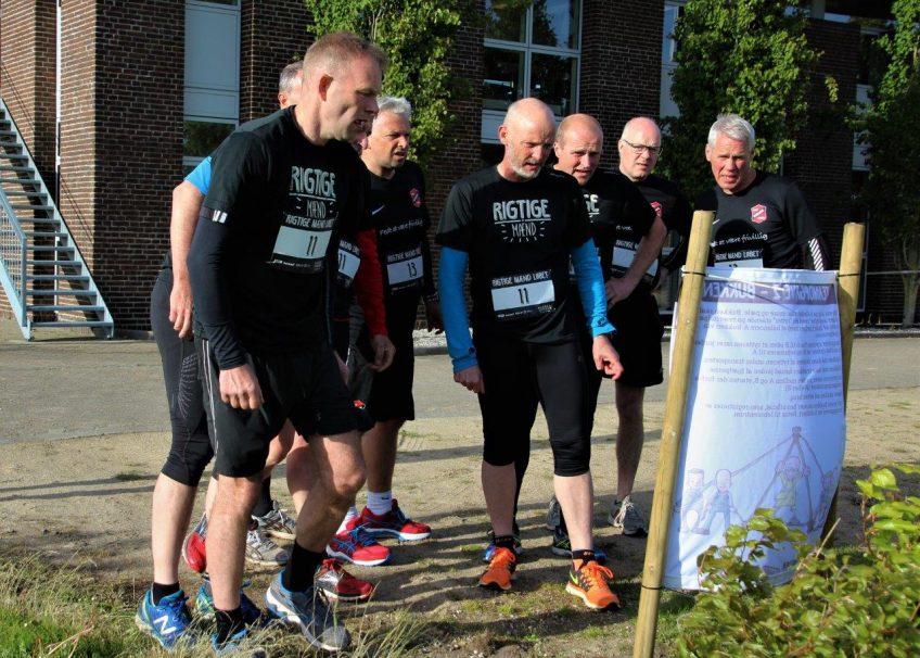 Rigtige Mænd Løbet kom til Kibæk