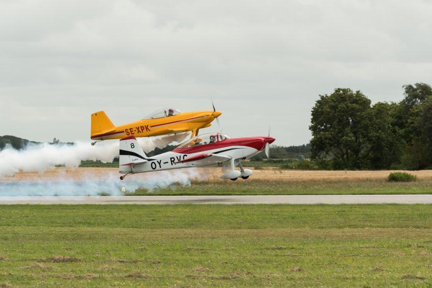 Wruuummmm – Flyshow i Stauning