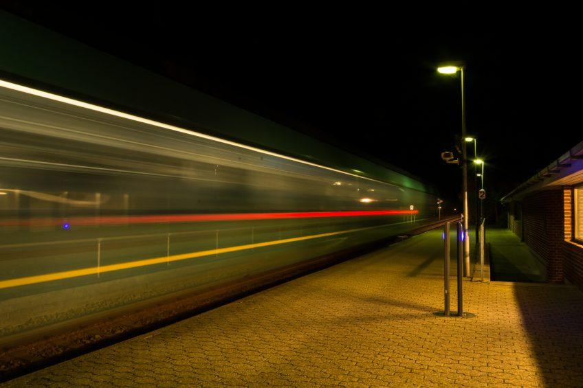 Natbilleder i byen