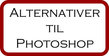 Alternativer til Photoshop og Lightroom