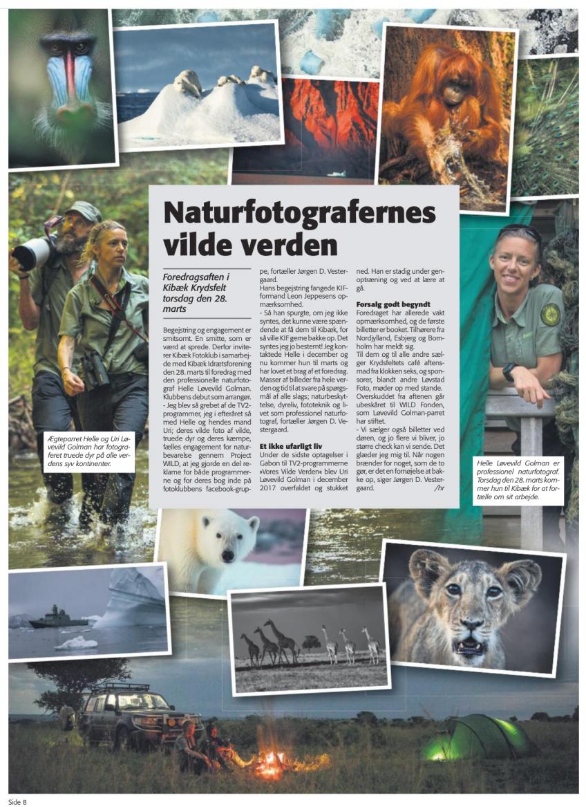 Ugeposten om naturfotografernes vilde verden