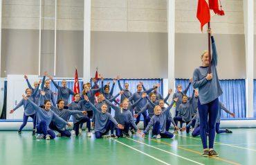 Gymnastikfest på grundlovsdag