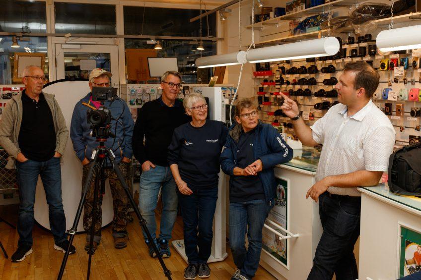 Besøg hos PhotoCare, Herning