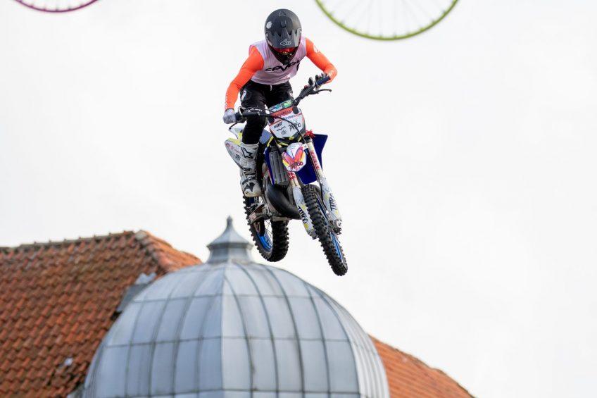 Fantastiske FMX stunts i Grindsted