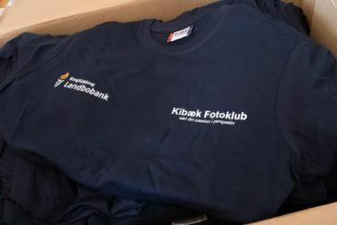 Vi går foråret i møde i nye klub t-shirts