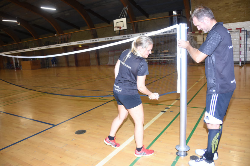 Døgnet rundt – Handelsbanken og Kibæk Badmintonklub